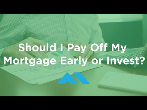 Should I Pay Off My Mortgage Early or Invest?