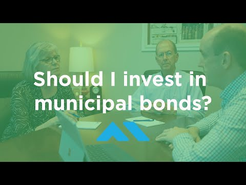 Should I invest in municipal bonds?